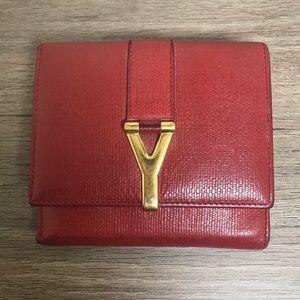 YSL Yves Saint Laurent Bi-fold wallet